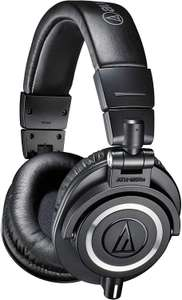 Audio-Technica ATH-M50X Studio Monitor Professional Headphones - Black £88 @ Amazon