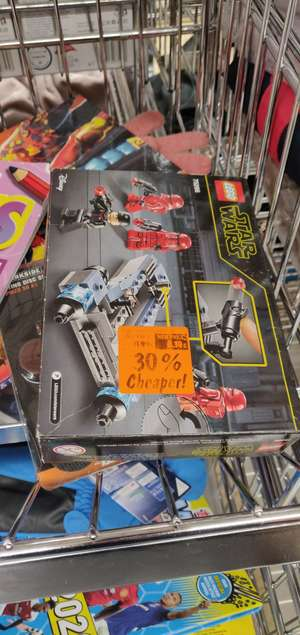 30% discount on Lego in-store Lidl Walthamstow