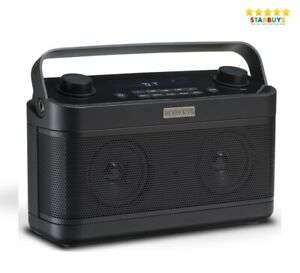 ROBERTS Blutune 5 Portable DAB DAB+ & FM Digital Radio with Bluetooth - Black - Opened – never used - £69.99 @ eBay / Starbuys