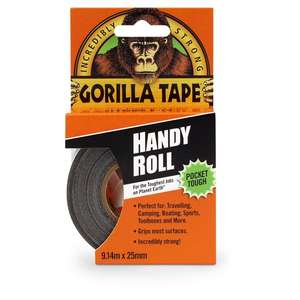 Gorilla Tape Handy Roll 9.14m £2 @ Tesco