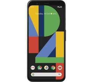 GOOGLE Pixel 4 - 64 GB, Just Black Smartphone - £474.05 (With Code) @ Currys / Ebay