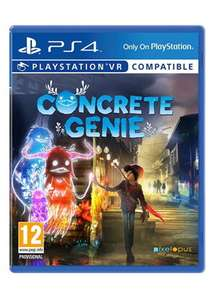 Concrete Genie [PS4/PSVR] for £13.85 Delivered @ Base.com