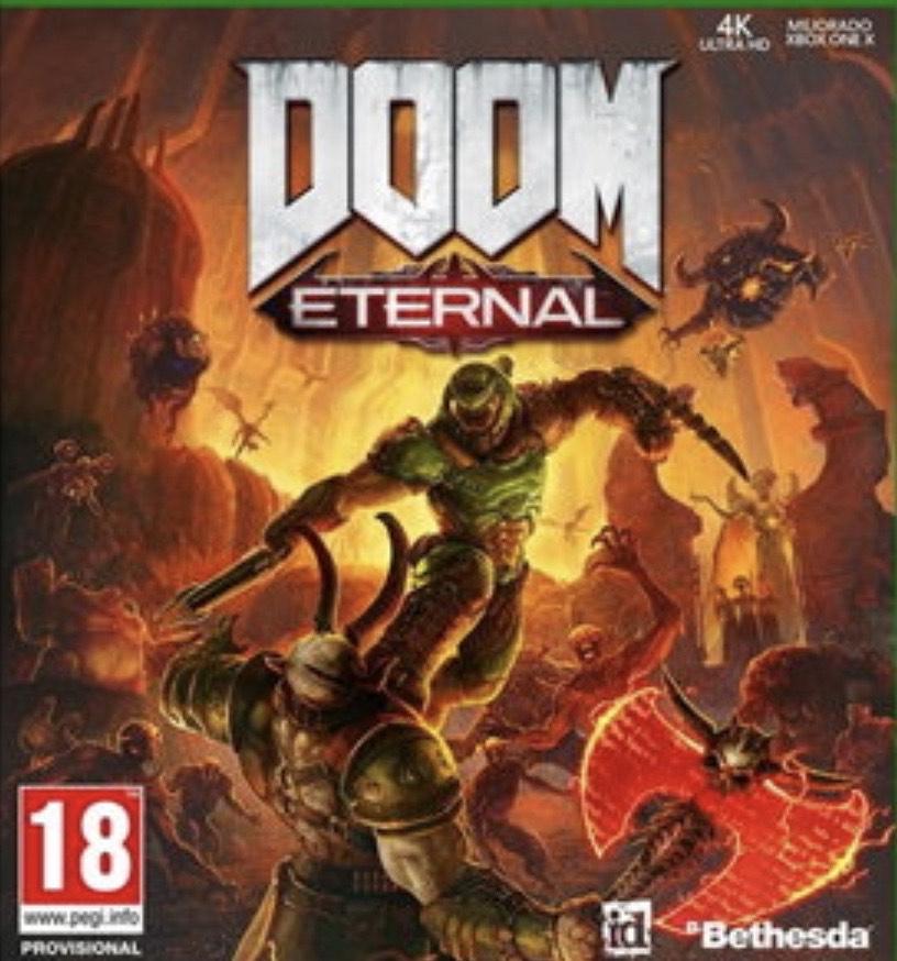 Doom Eternal (Xbox One/PS4) preorder - £39.85 @ Base