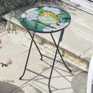 Smart Garden Robin Glass Table - £11.99 + free click and collect at Robert Dyas