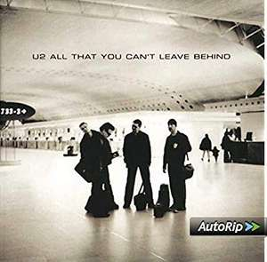 U2 / All That You Can't Leave Behind [VINYL] £11.99 + £2.99 NP @ Amazon