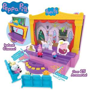 Peppa Pig Stage Play-Set £14.99 @ Symthstoys (Free Click & Collect)