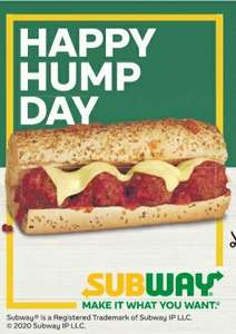 """Two 6"""" Sub or One Footlong for £5 / £3.79 Meal Deal / 99p Breakfast Bacon Sub at Subway @ Metro Newspaper"""