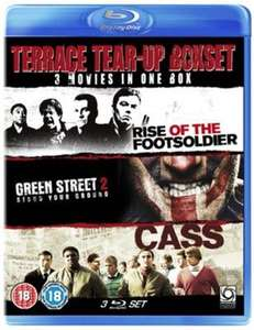 Terrace tear-up boxset blu ray Rise of the footsoldiers/green street 2/Cass £3.50 new at 123dvdshop / ebay