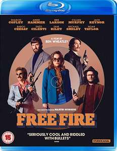 Free Fire [Blu-ray] [2017] £1.94 (Prime) / £4.93 (non Prime) at Amazon
