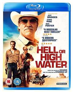 Hell or High Water [Blu-ray] [2016] £2.09 (Prime) / £5.08 (non Prime) at Amazon
