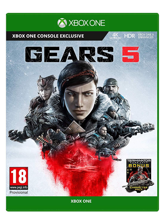 Gears 5 - Standard Edition - Xbox One £14.99 (Prime) / £17.98 (non Prime) at Amazon
