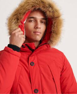 Superdry Everest Parka Jacket size Xs £52 Superdry on eBay