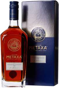 Metaxa The Original Greek Spirit 12 Stars, 70 cl £25 Amazon