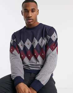 French Connection crew neck ski jumper Now £8.60 with code size XS up to XL (£3.99 delivery or Free with Premier or £30 spend) @ Asos