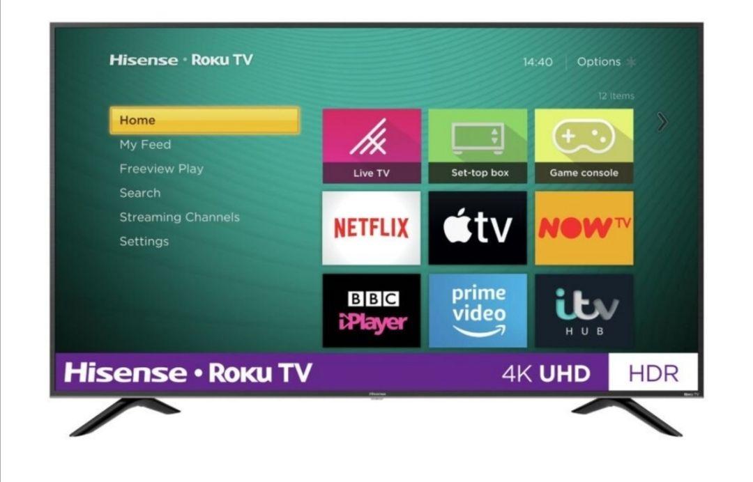 Hisense Roku TV 65 Inch R65B7120UK 4K Smart LED TV with HDR £479 @ Argos