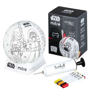 Star Wars Mini Scriballs (Kylo Ren / Mini Yoda / Mini BB-8) - £3 delivered @ Mitre