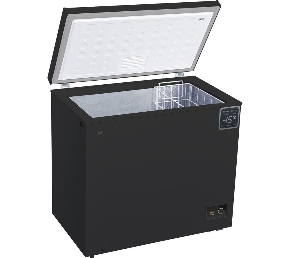 LOGIK L200CFB18 Chest Freezer Black £169.99 @ Currys PC World