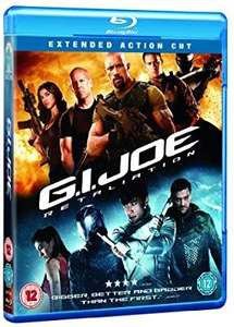 G.I.JOE: Retaliation extended action cut blu ray £1.80 @ Amazon Prime / £4.79 Non Prime
