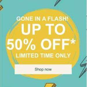 Up to 50% OFF selected items items from £1 @ The body shop