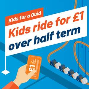Go North West - Kids For A Quid: Under 16's bus travel for £1 (single ticket - Manchester)