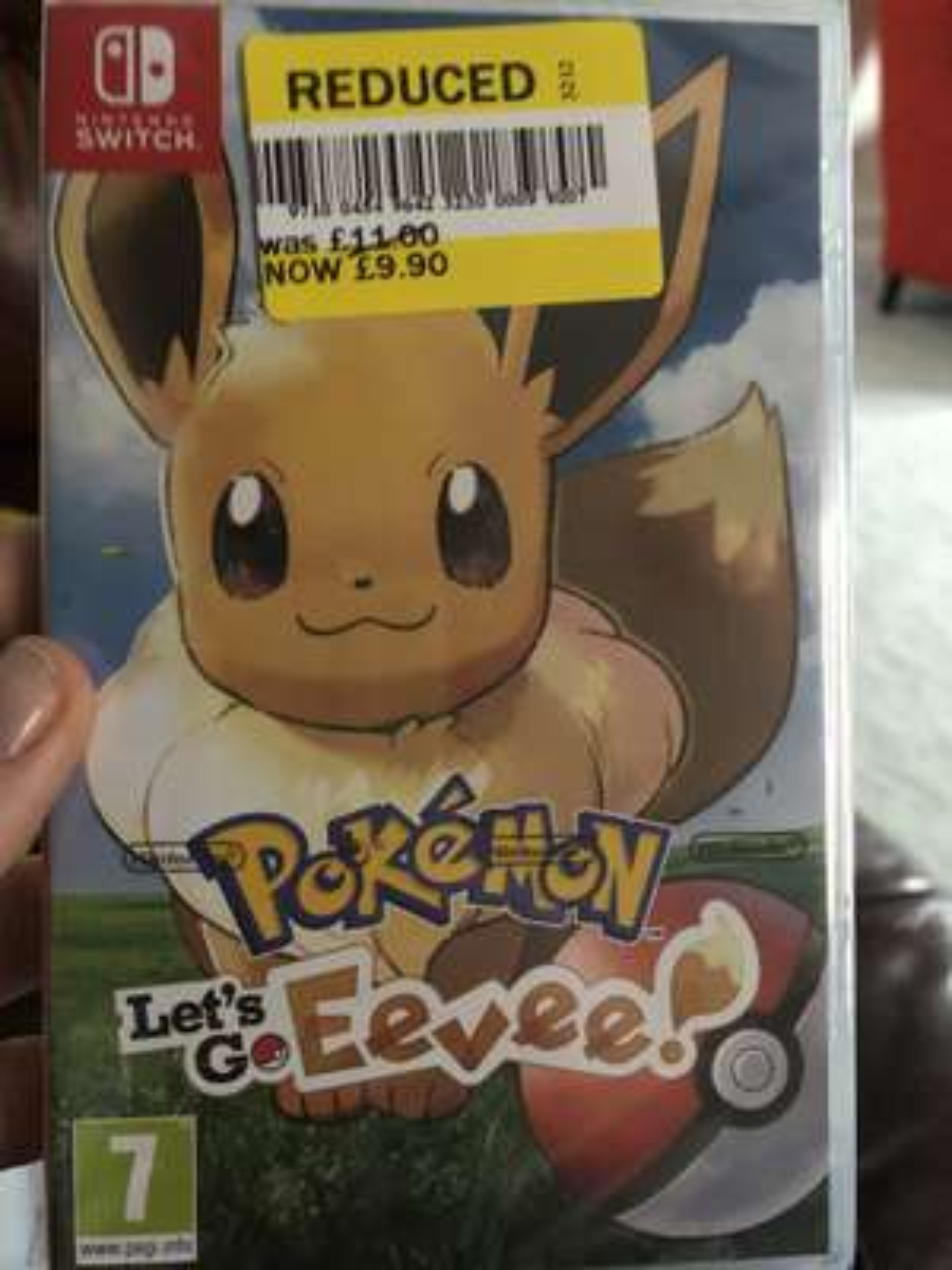 Let's Go Eevee Pokemon Switch £9.90 at Tesco Stratford Upon Avon