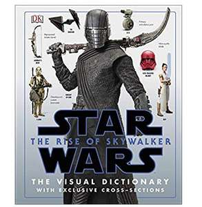 Star Wars The Rise of Skywalker The Visual Dictionary £10 @ Amazon