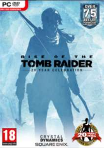 Rise of the Tomb Raider 20 Year Celebration Edition (PC Steam) £5.99 @ CDKeys