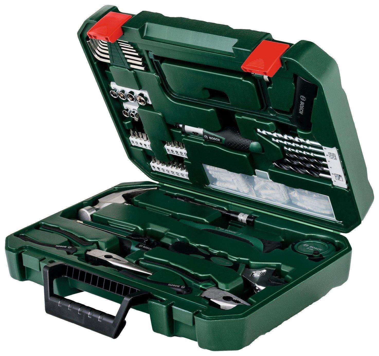Bosch 111 Piece Hand Tool Kit Set, Home DIY, £29.99 + Free Delivery @ Argos/eBay