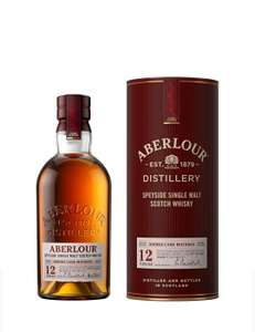 Aberlour 12 Year Old Single Malt Scotch Whisky, 70 cl (Double Cask Matured) £29 at Amazon