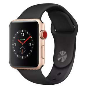 Apple Watch Series 3 GPS + CELLULAR (4G) 38mm Gold Aluminium In Good Condition £137.27 @ Music Magpie Ebay
