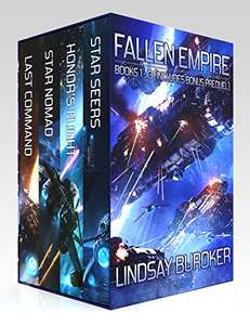 The Fallen Empire Omnibus (Books 1-3 and prequel) Kindle Edition Free @ Amazon