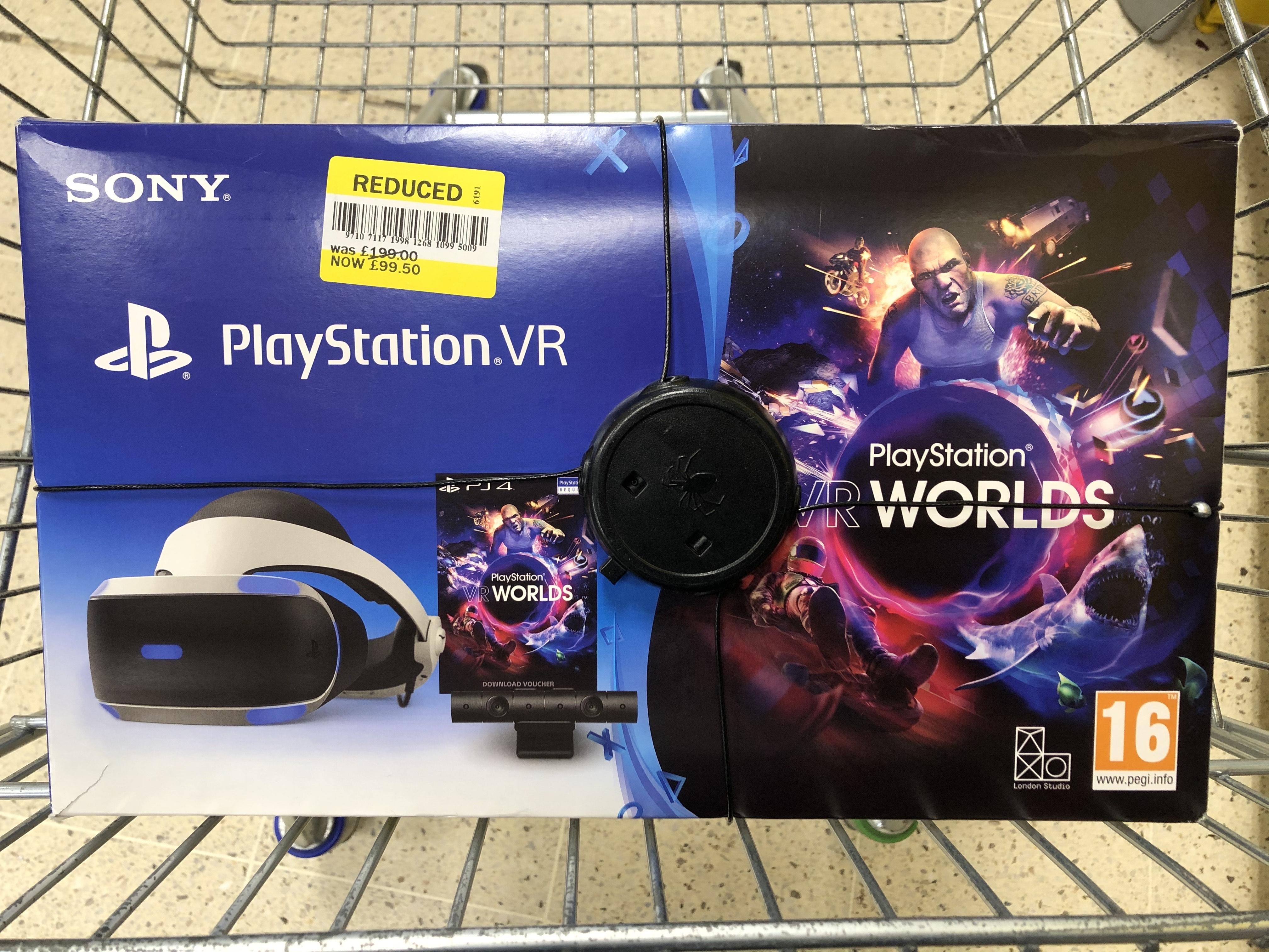 PlayStation VR Worlds - £99.50 yellow sticker in store @Tesco (Llandrindod, mid Wales)