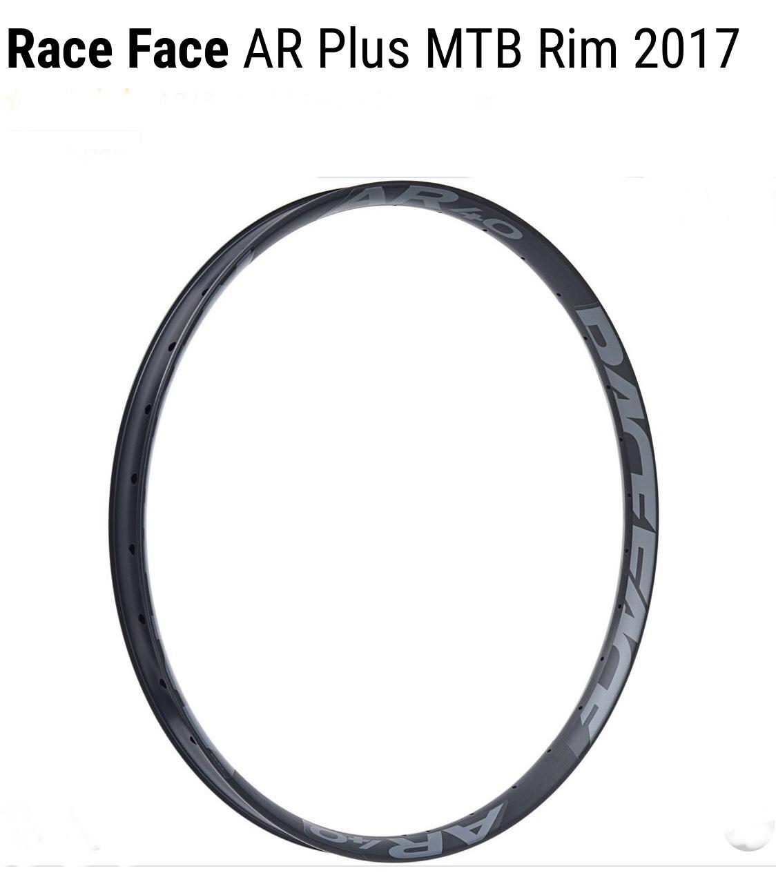 Race face AR40 27.5 aluminium mountain bike wheel Rim down to £17.99 @ Chain Reaction CRC