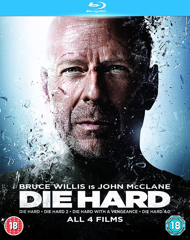 Die Hard Quadrilogy [Blu-ray] £7.99 at Amazon (+£2.49 non prime)