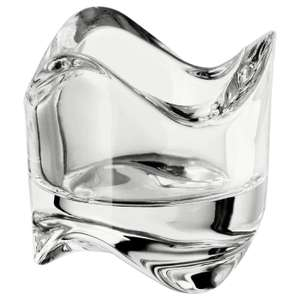 1 Pc IKEA VASNAS Candle Holder Wax, Clear Glass Holder 6cm x 6cm - 80p (+£4.49 Non-Prime), Like New @ Amazon Warehouse