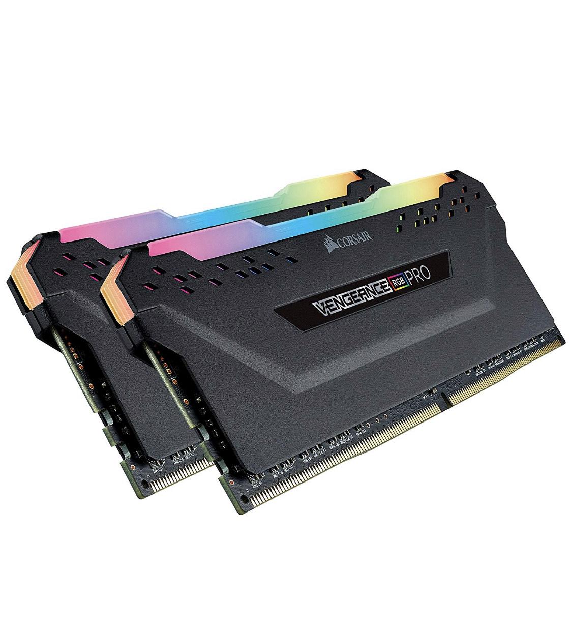 Corsair Vengeance RGB PRO 16 GB (2 x 8 GB) DDR4 3200 MHz at Amazon for £82.98