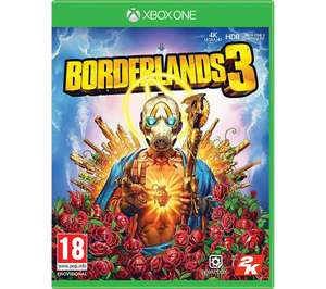 Borderlands 3 XBOX One and PS4 at Currys/PC World for £22.99
