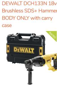 Dewalt DCH133 body only * plus Tstak at ToolStoreUK for £105