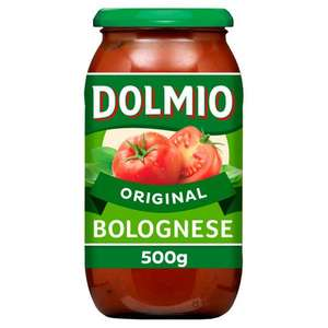 Buy 3 jars of Dolmio sauce 500g and receive free 1kg pasta at Iceland - £3 spend