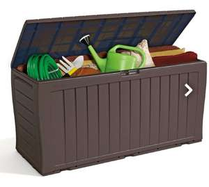 Keter Marvel Plus 270L Plastic Garden Storage Box - Brown - £29.75 + Free Click and Collect @ Homebase