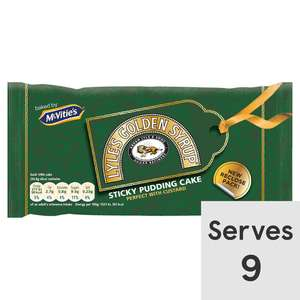 Mcvitie's Original Lyle's Golden Syrup Cake On Offer 67p @ Tesco