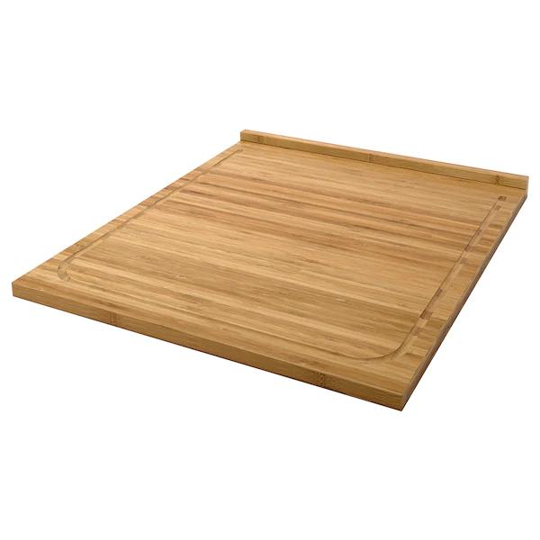 LÄMPLIG Chopping board, bamboo, 46x53 cm £9 at IKEA