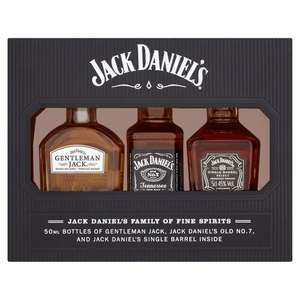 Jack Daniels Family 3x5cl set instore at Tesco for £3