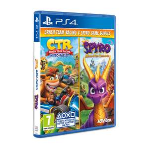Crash Team Racing & Spyro Reignited Trilogy Double Pack (PS4) £34.99 @ Argos (Free Click & Collect)