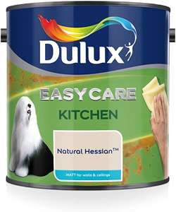 Dulux Easycare Kitchen / Bathroom Paint 2.5l £5 - Wilko instore Worthing