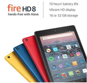 Amazon Fire HD 8 Tablet £26.99 @ Amazon - Select accounts