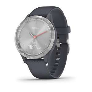 Garmin Vivomove 3S Hybrid Smartwatch with Real Watch Hands & Touchscreen Display (Granite Blue + Silver Bezel) £99.99 Delivered @ Amazon