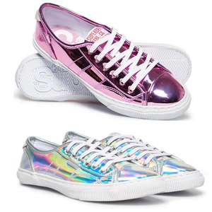 Superdry Low Pro Luxe Women's Trainers - Silver Or Smoke Rose £9.60 delivered @ eBay / Superdry