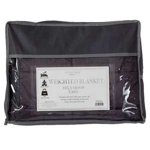 Weighted Blanket (125cm x 150cm Single - 4Kg) £25.50 @ Amazon