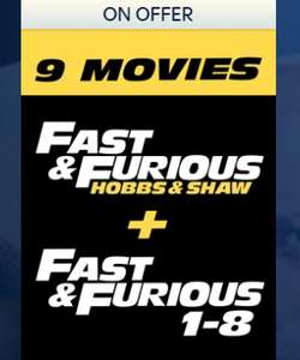 Hobbs & Shaw/Fast & Furious £34.99 @ Sky store